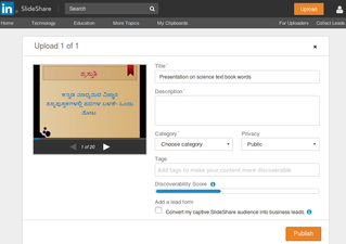 Learn Slideshare - Open Educational Resources